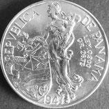 パナマ記念銀貨 西暦1947年