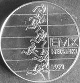 フィンランドマルッカ銀貨 西暦1971年