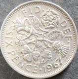 イギリス 西暦1967年