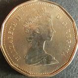 カナダ記念貨 西暦1987年