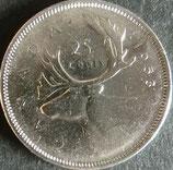 カナダ記念銀貨 西暦1953年