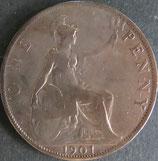 イギリス 西暦1901年