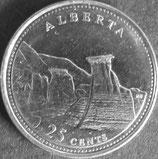 カナダ銀貨 西暦1992年