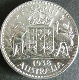 オーストラリア銀貨 西暦1938年Φ29