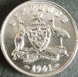 オーストラリア銀貨 西暦1941年