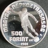 ハンガリープルーフ銀貨