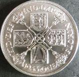 オーストラリア銀貨 西暦1933年