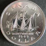 カナダ記念銀貨 西暦1949年Φ37