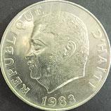 ハイチ 西暦1983年
