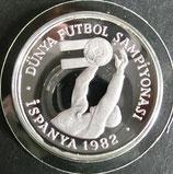 スペインプルーフ銀貨