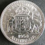 オーストラリア銀貨 西暦1958年Φ29,43