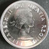 カナダ記念銀貨 西暦1963年Φ36
