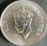 インド銀貨 西暦1941年