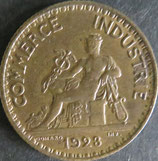 フランス系インド 西暦1923年