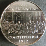 カナダ記念銀貨 西暦1982年Φ33