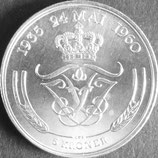デンマーク記念銀貨 西暦1960年