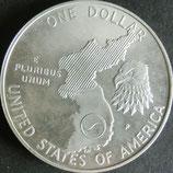 朝鮮戦争記念1ドル銀貨