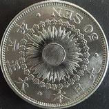 旭日50銭銀貨(大正1年)
