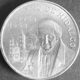 メキシコ記念銀貨 西暦1953年Φ40