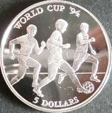 クック諸島ワールドカップ記念銀貨