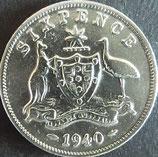 オーストラリア銀貨 西暦1946年Φ28