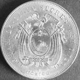 エクアドル記念銀貨 西暦1943年