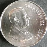 南アフリカ共和国記念銀貨 西暦1967年