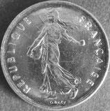 フランス銀貨 西暦1973年