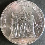 フランス銀貨 西暦1874年Φ38