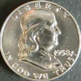フランクリン50セント銀貨