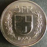 スイスフラン 西暦1970年
