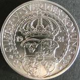 スウェーデン銀貨 西暦1921年