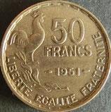 フランス記念貨 西暦1951年