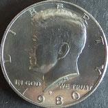 ケネディ 50セント 西暦1980年