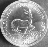 南アフリカ共和国記念銀貨  西暦1964年Φ39