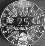 オーストリア銀貨 西暦1973年