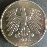 ドイツ記念貨 西暦1988年