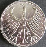 ドイツ記念銀貨 西暦1951年