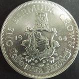 バーミューダ クラウン銀貨