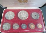 パプアニューギニア記念銀貨   Φ40.45.35.30.25.20.23.18