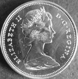 カナダ銀貨 西暦1967年
