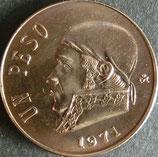 メキシコ記念貨 西暦1971年