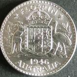 オーストラリア銀貨 西暦1953年Φ29