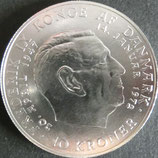 デンマーク記念銀貨 西暦1972年
