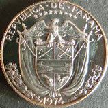 パナマ記念貨プルーフ 西暦1974年