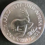 南アフリカ記念銀貨 西暦1947年Φ39