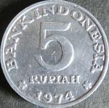 インドネシア 西暦1974年