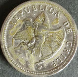 チリ記念貨 西暦1933年