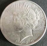 ピース1$銀貨 西暦1925年