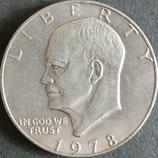 アイゼンハワー 1ドル 西暦1978年